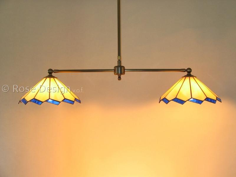 Acanthus duo, Rose Design Tiffany hanglamp