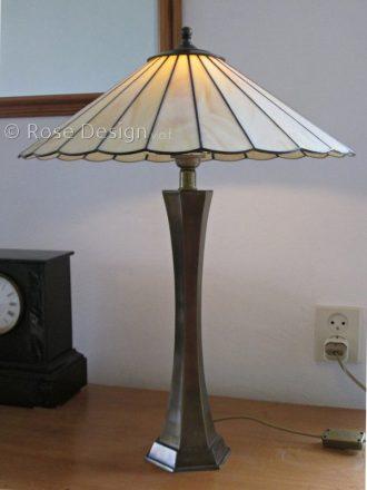Waaier 45 cm Tiffany tafellamp