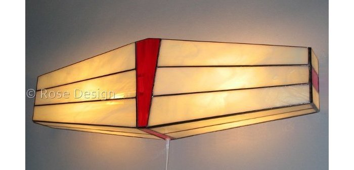 Rose design Wing wandlamp.