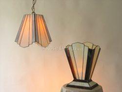 Zodiac, een Rose Design Tiffany hanglamp, ook als staand lamp verkrijgbaar.