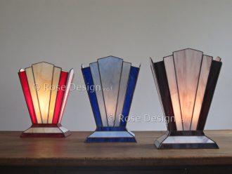 Zodiac, een Art Deco style Tiffany tafellamp van Rose design.