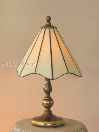 Lelie een kleine Tiffany tafellamp