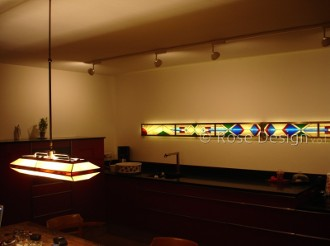 Widelight 3, speciaal ontworpen en op maat gemaakte wand verlichting.